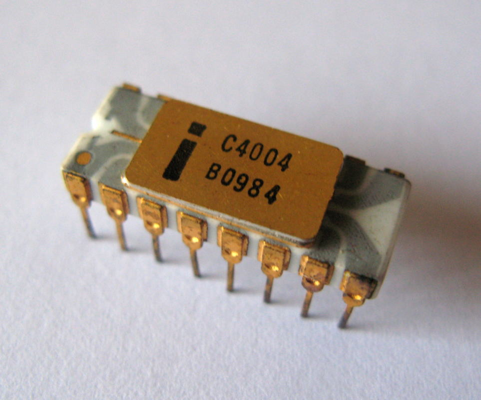 microprocessor 4004 intel